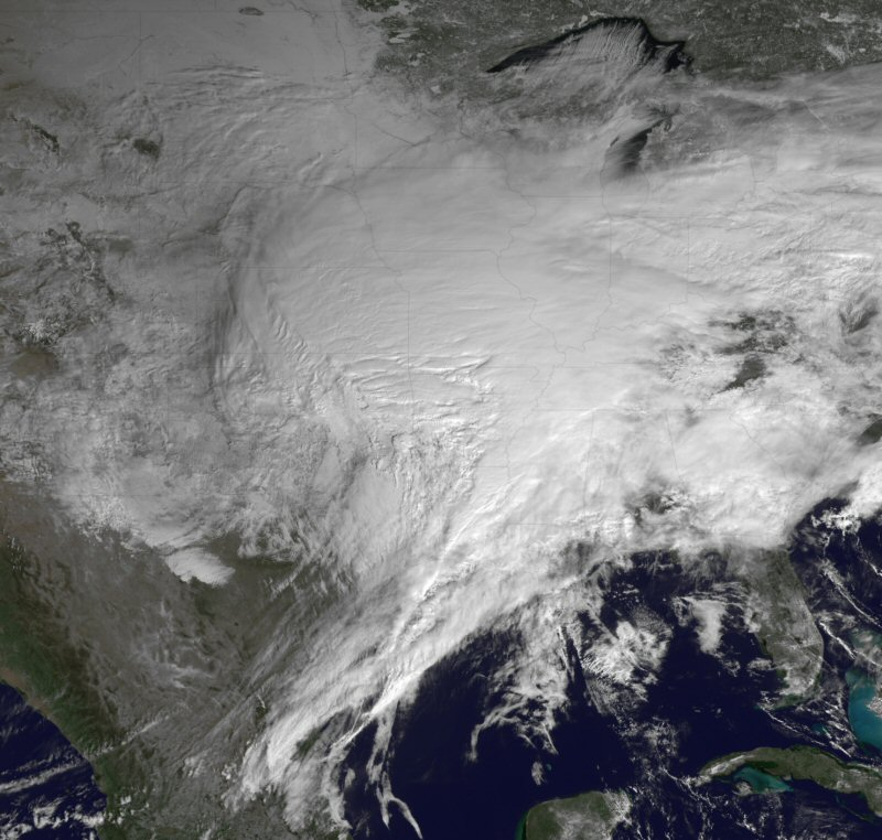 Blizzard 2011 from NOAA